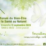 Banniere du Forum Bien etre de Parempuyre du 13 septembre 2020